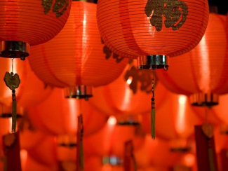 Chinese lamps day